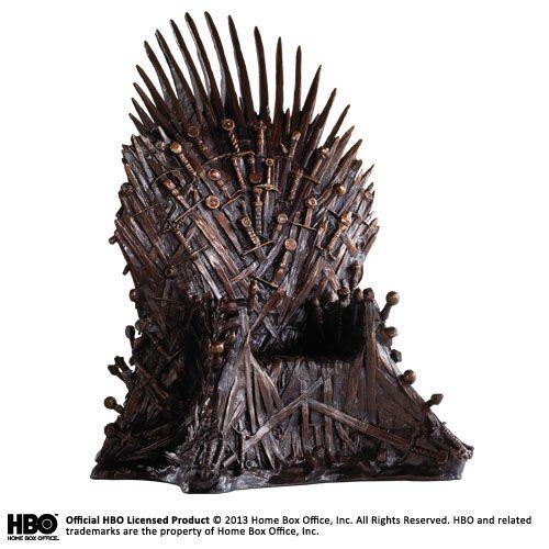 Game of Thrones Statue Bronze Iron Throne 36 cm