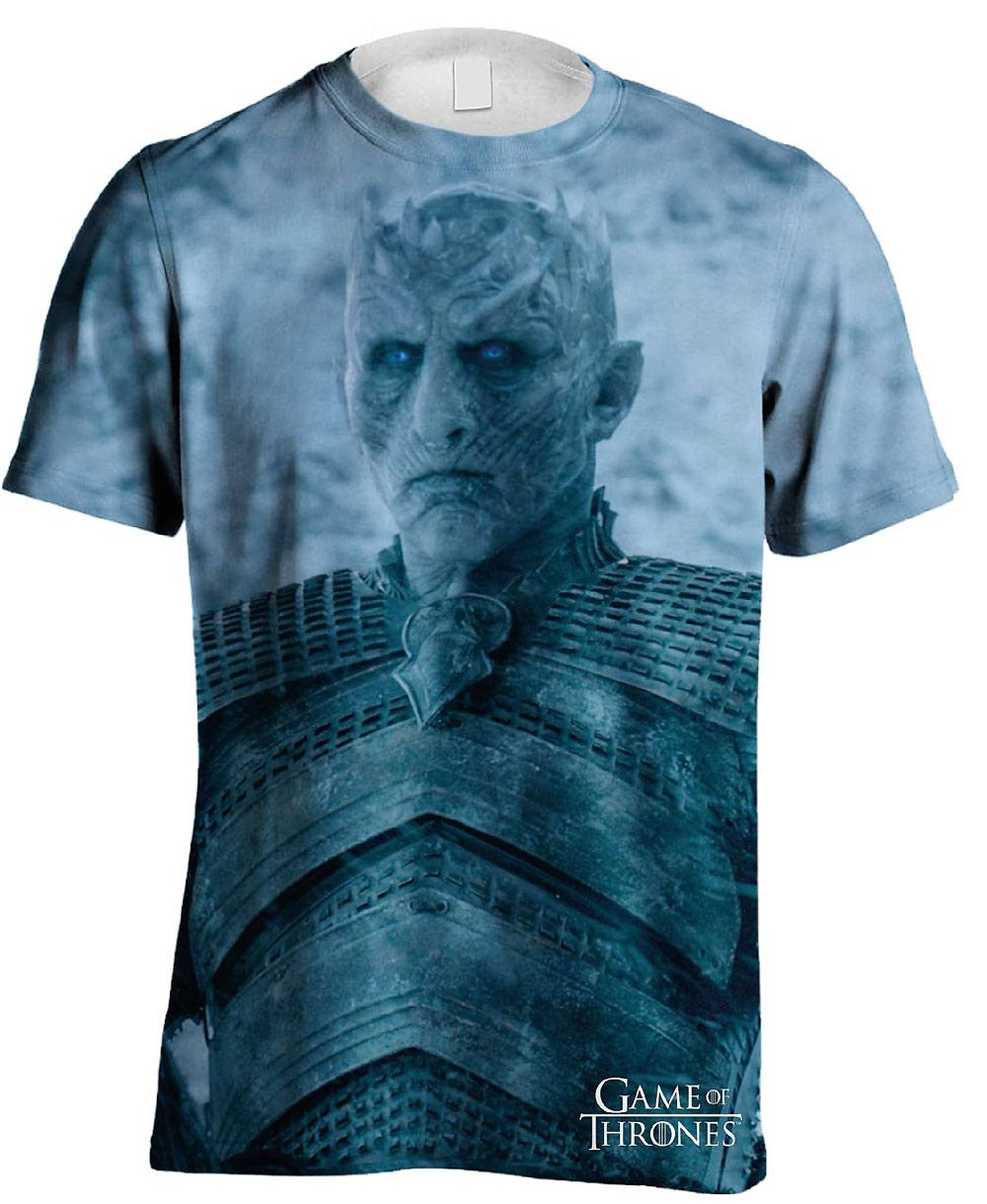 Game of Thrones Sublimation T-Shirt Night King Sublimation Size S