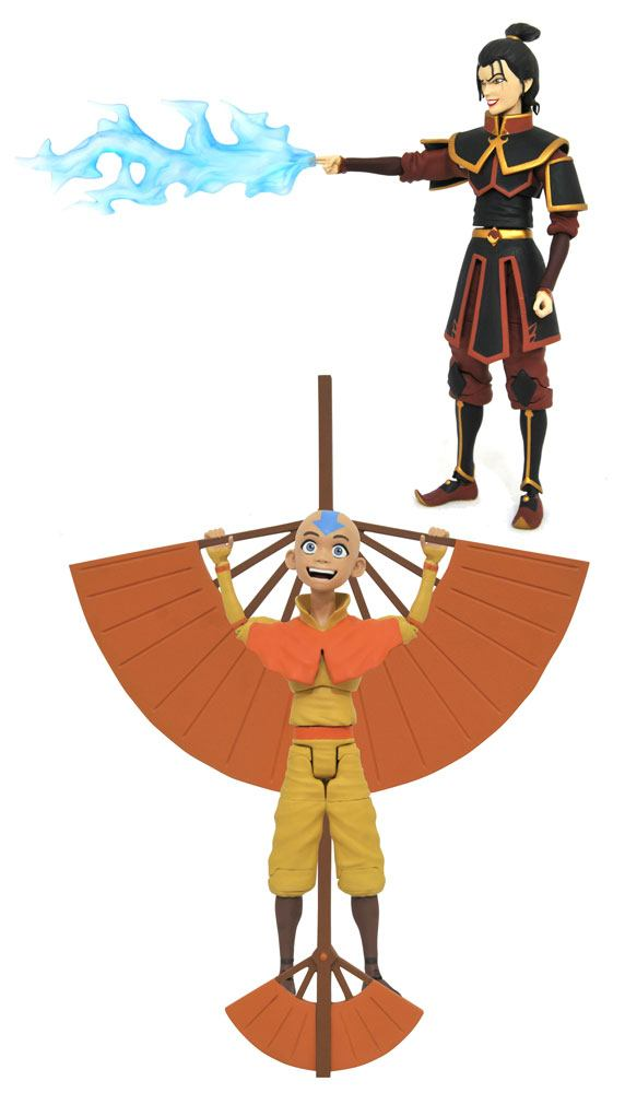 Avatar The Last Airbender Select Action Figures 18 cm Series 2 Assortment (6)