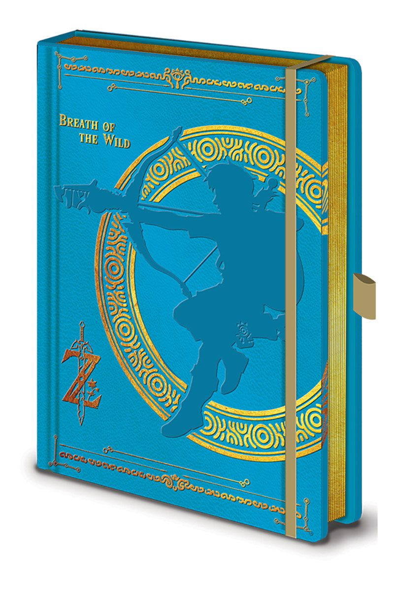 Legend of Zelda Premium Notebook A5 Breath of the Wild