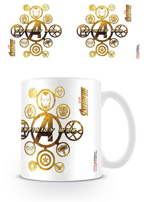Avengers Infinity War Mug Connecting Icons