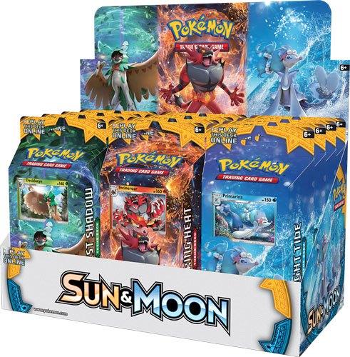 Pokemon Sun and Moon 1 Theme Deck Display (12) *English Version*