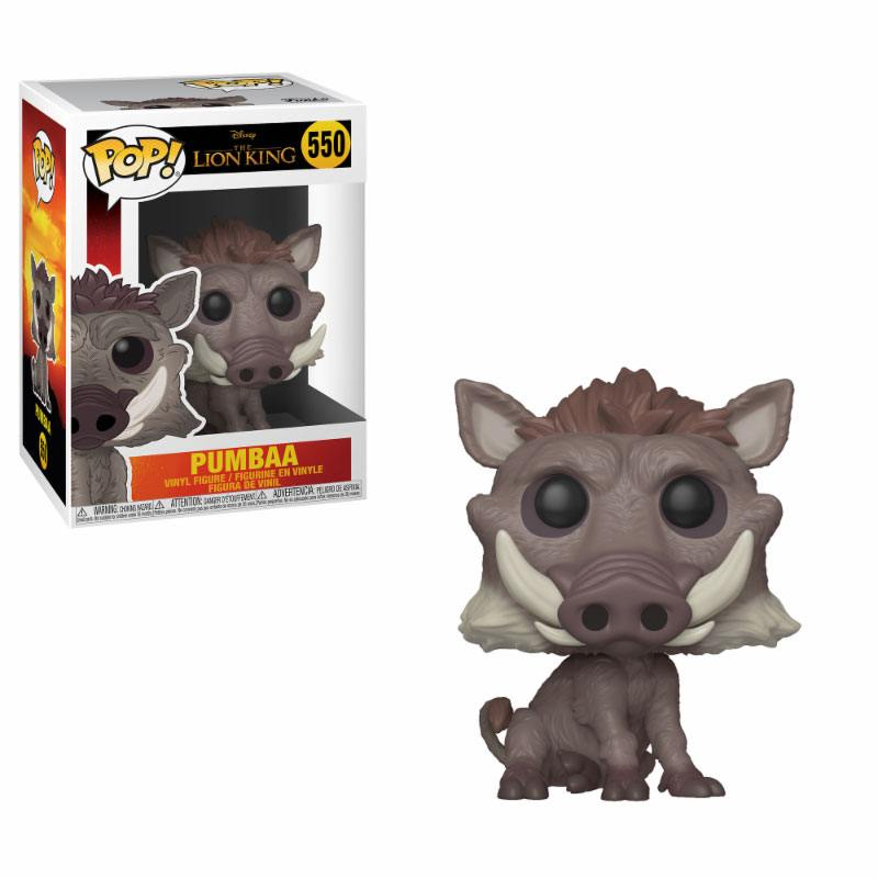 The Lion King (2019) POP! Disney Vinyl Figure Pumbaa 9 cm
