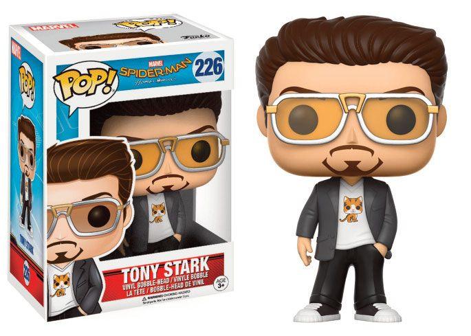 Spider-Man Homecoming POP! Marvel Vinyl Figure Tony Stark 9 cm