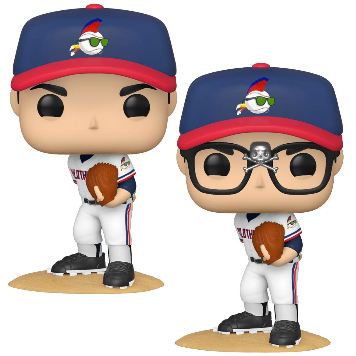 Major League POP! Movies Vinyl Figures Ricky Vaughn 9 cm Assortment (6)