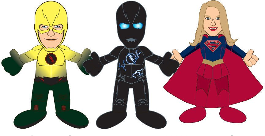 DC Comics TV Plush Figure Series 2 Zoom 25 cm