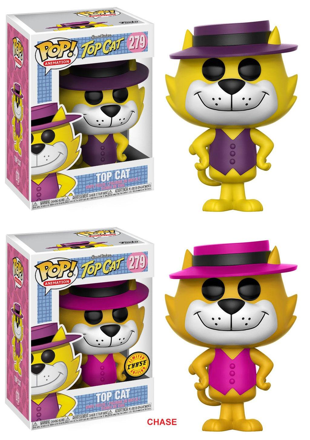 Hanna-Barbera POP! Animation Vinyl Figures Top Cat 9 cm Assortment (6)