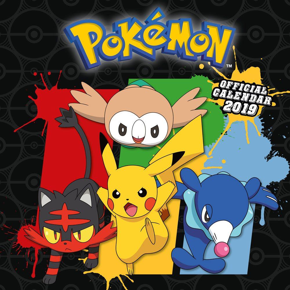 Pokemon Calendar 2019 English Version*