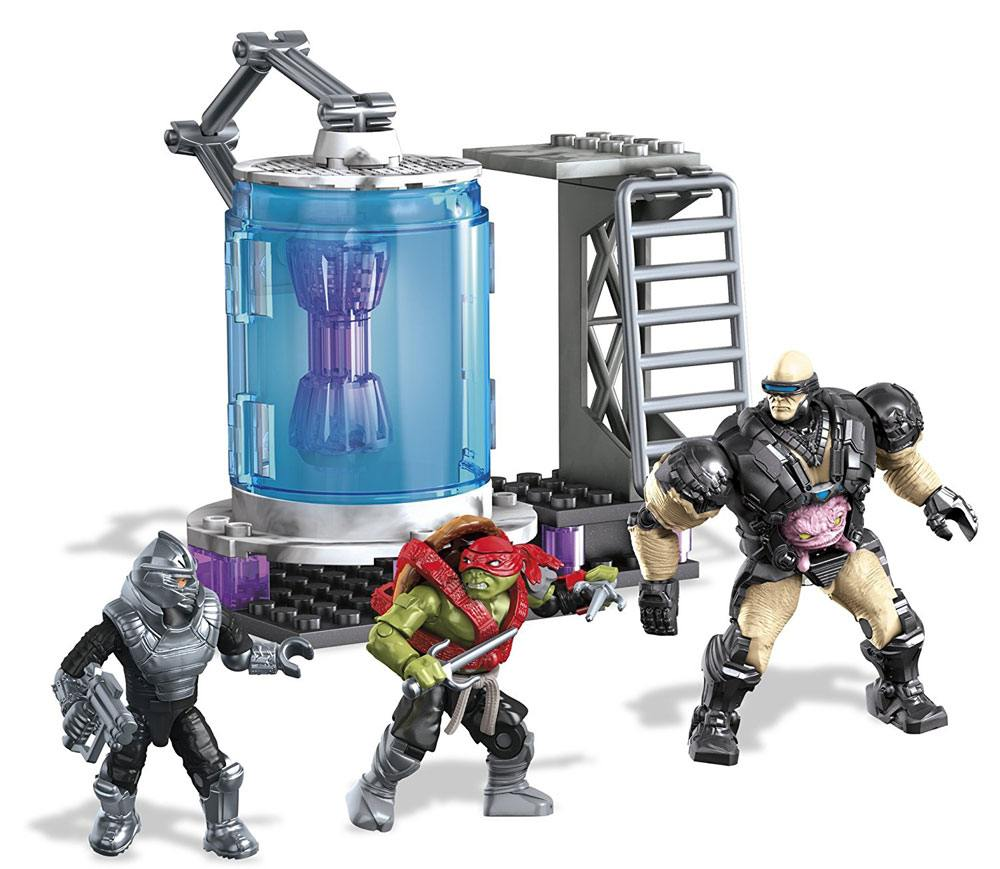 Teenage Mutant Ninja Turtles Mega Bloks Construction Set Kraang Cryo Chamber