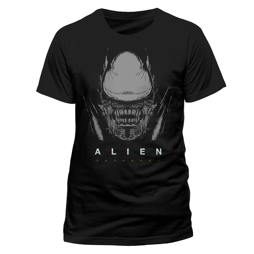 Alien Covenant T-Shirt Xeno and Logo Size M