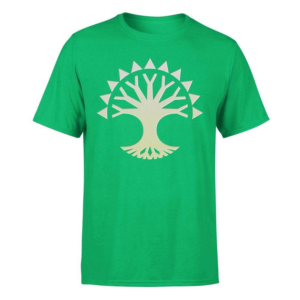 Magic the Gathering T-Shirt Selesnya Symbol Size L
