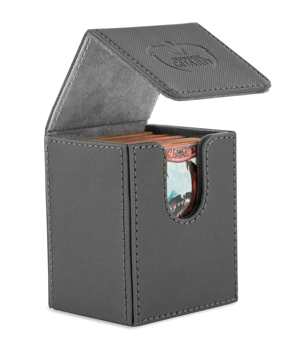 Ultimate Guard Flip Deck Case 100+ Standard Size XenoSkin Grey