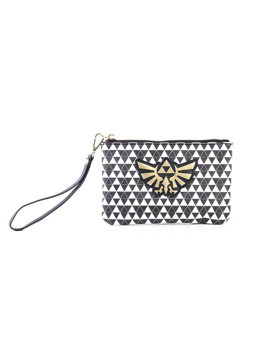 The Legend of Zelda Coin Purse / Make Up Bag Zelda Black & White