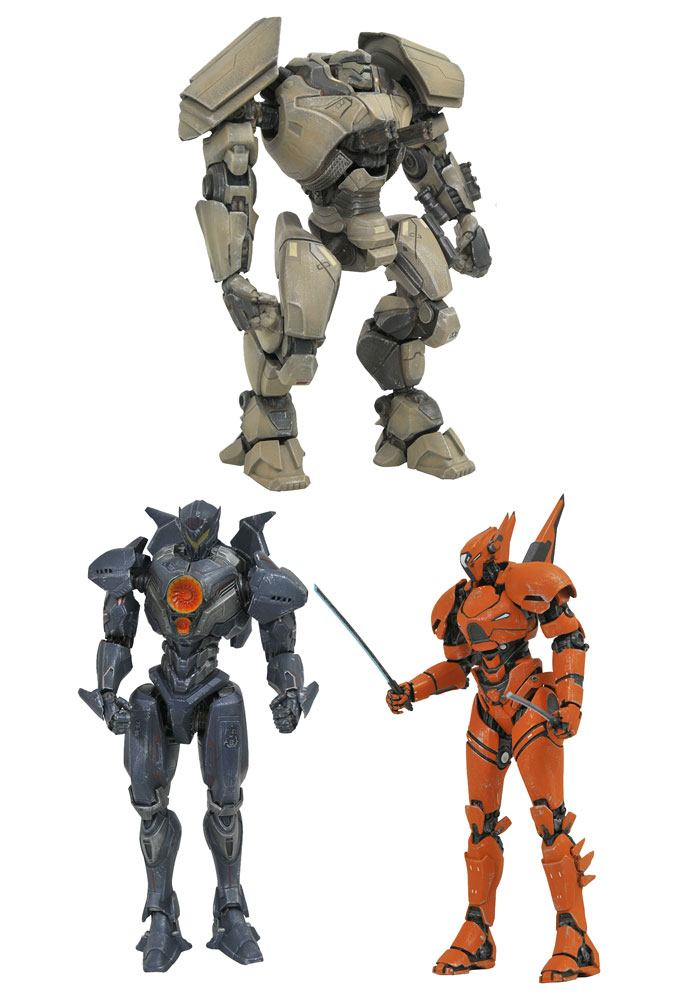 Pacific Rim Uprising Select Action Figures 18 cm Series 1 Assortment (6)