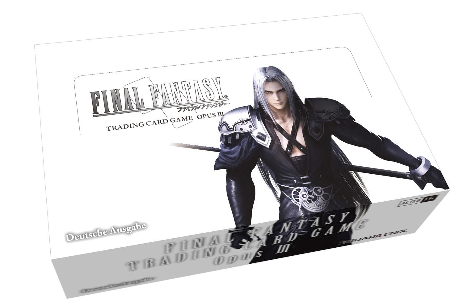Final Fantasy TCG Opus III Booster Display (36) *German Version*