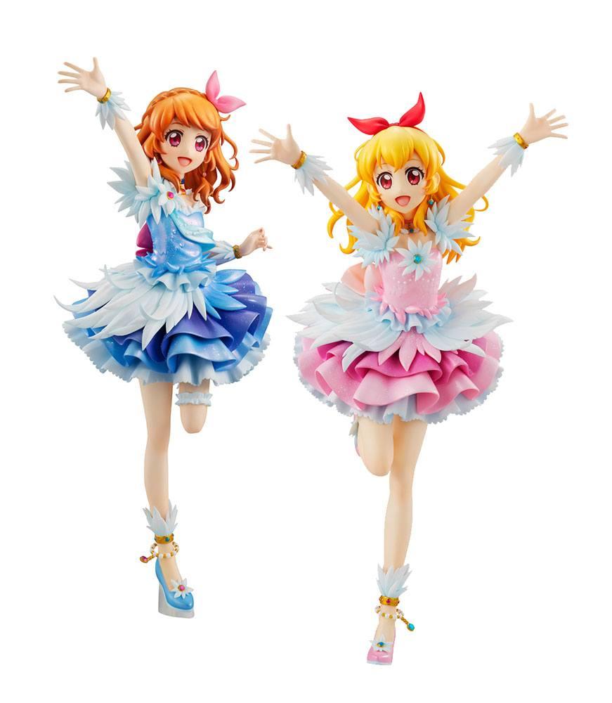 Aikatsu! PVC Statue 2-Pack Lucrea - Akari & Ichigo Cosmoc Ver. 22 cm