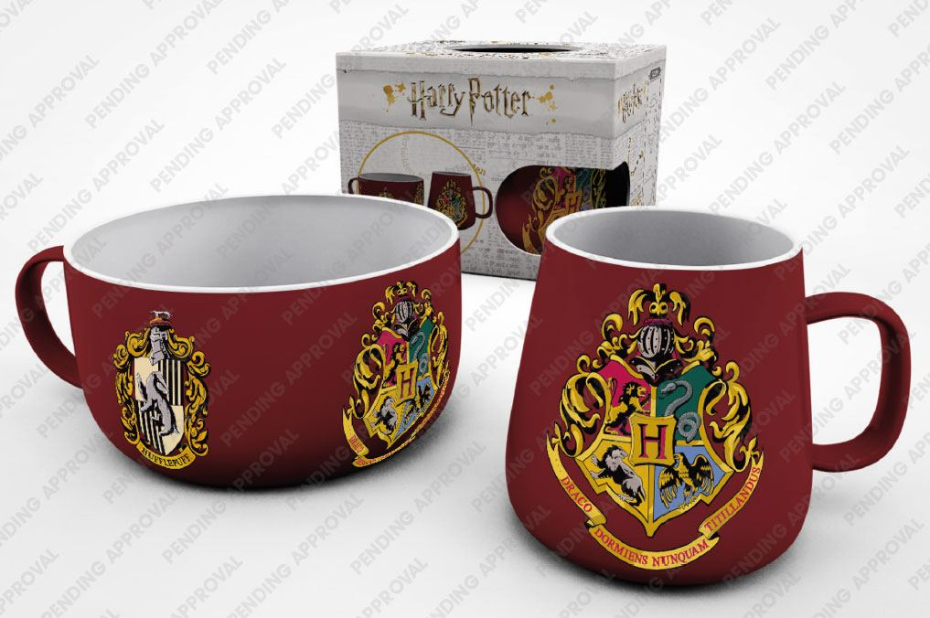 Harry Potter Breakfast Set Crests