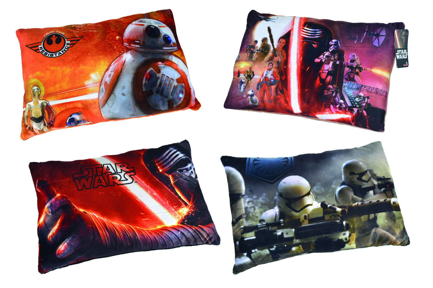 Star Wars Episode VII Pillows Assortment (4)