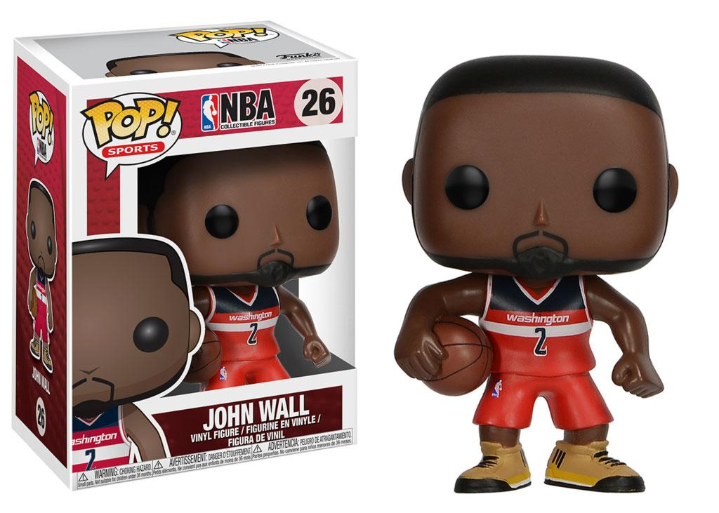 NBA POP! Sports Vinyl Figure John Wall (Washington Wizards) 9 cm