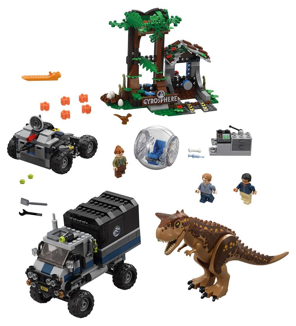 LEGO® Jurassic World™ - Carnotaurus Gyrosphere Escape