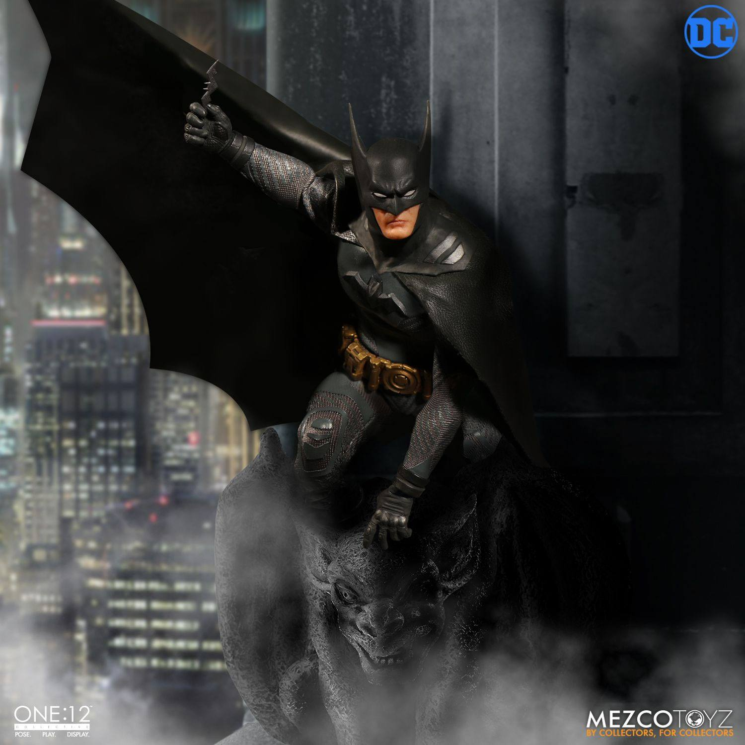 DC Comics Action Figure 1/12 Batman Ascending Knight 17 cm