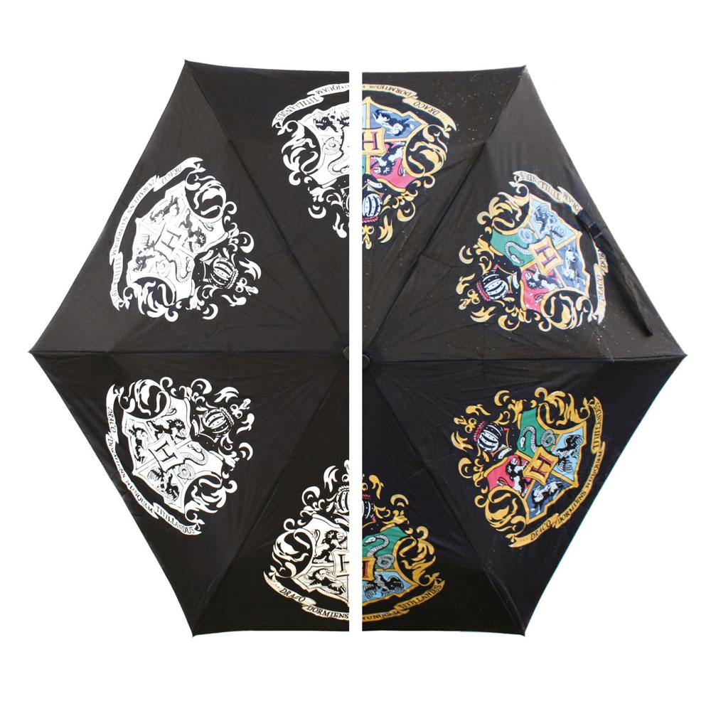 Harry Potter Colour Changing Umbrella Hogwarts Slogan