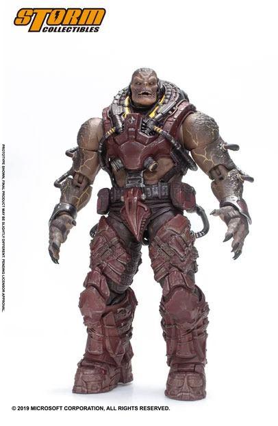 Gears of War Action Figure 1/12 Locust Disciple 18 cm