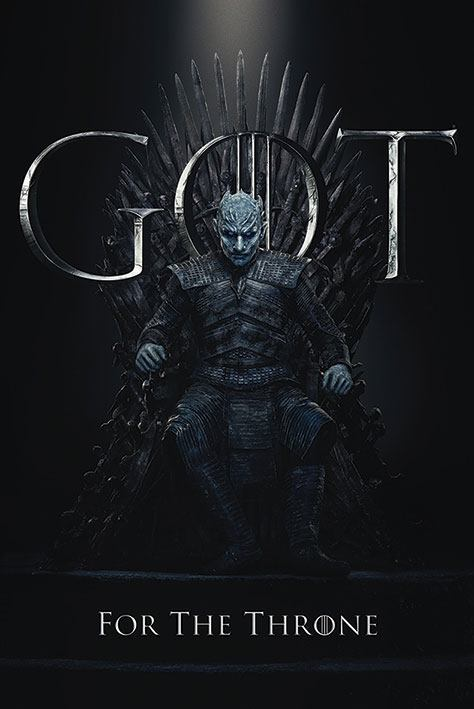Game of Thrones Poster Pack Night King for the Throne 61 x 91 cm (5)