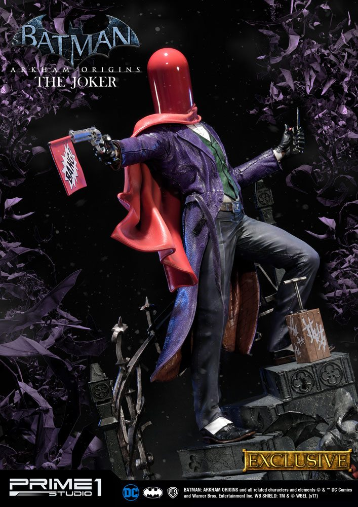 Batman Arkham Origins Statue The Joker & The Joker Exclusive 86 cm Assortment (3)