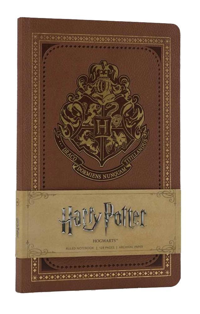 Harry Potter Ruled Notebook Hogwarts