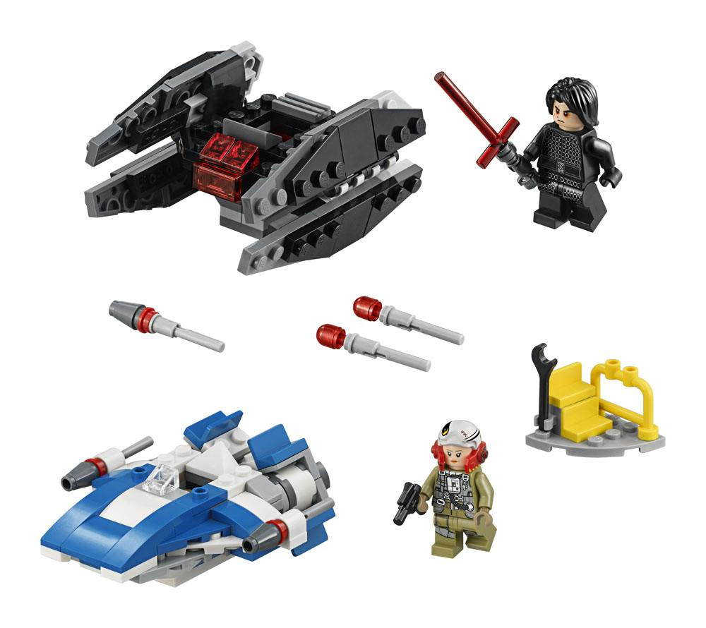 LEGO® Star Wars™ Microfighters Episode VIII: A-Wing™ vs. TIE Silencer™