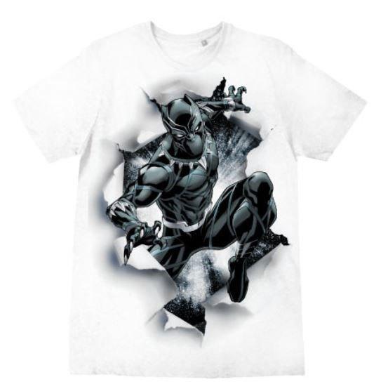 Black Panther T-Shirt Destroy Size S