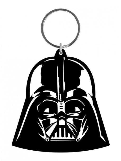 Star Wars Rubber Keychain Darth Vader 6 cm