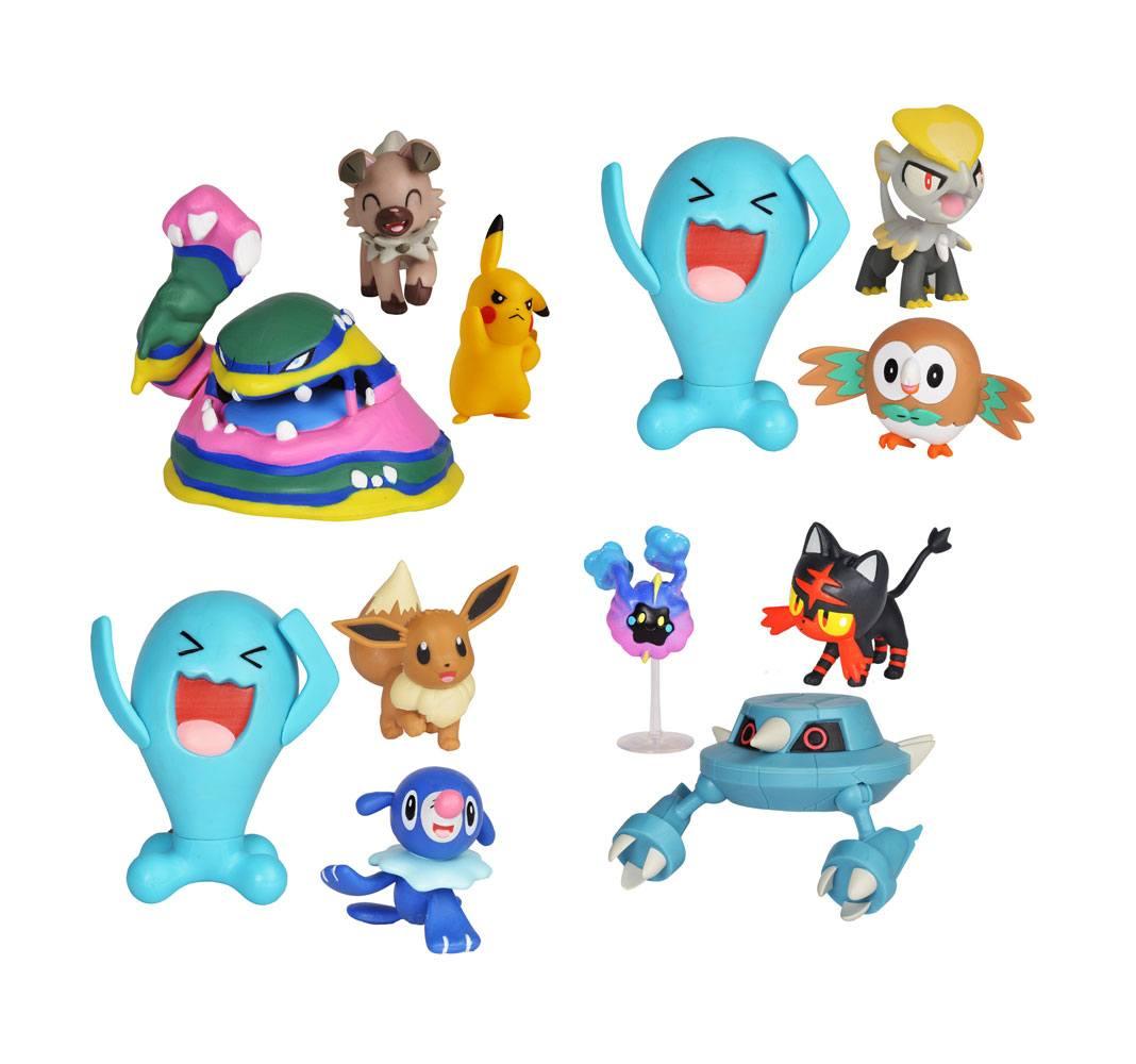Pokémon Battle Mini Figures 3-Packs 5-7 cm Wave 1 Assortment (4)