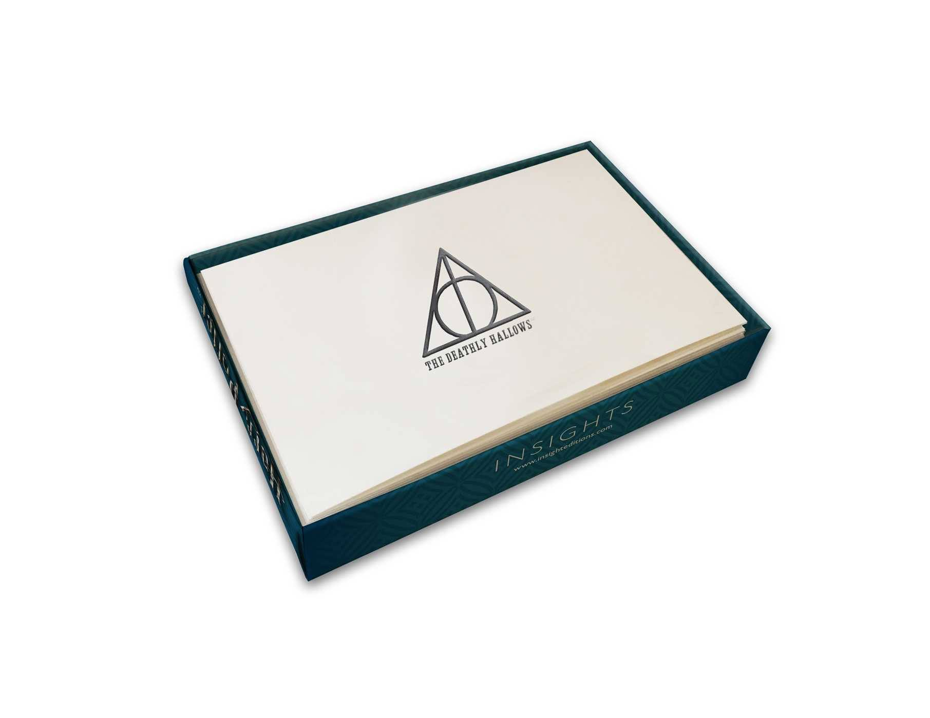 Harry Potter Foil Gift Enclosure Cards 10-Pack Deathly Hallows 89 x 56 mm