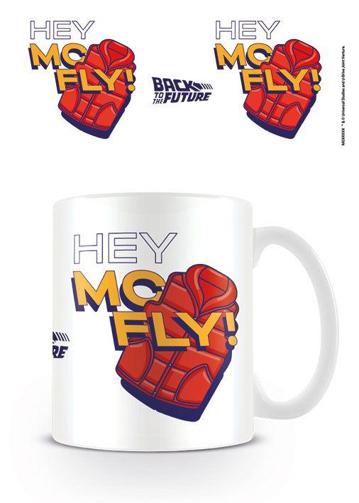 Back to the Future Mug Hey McFly