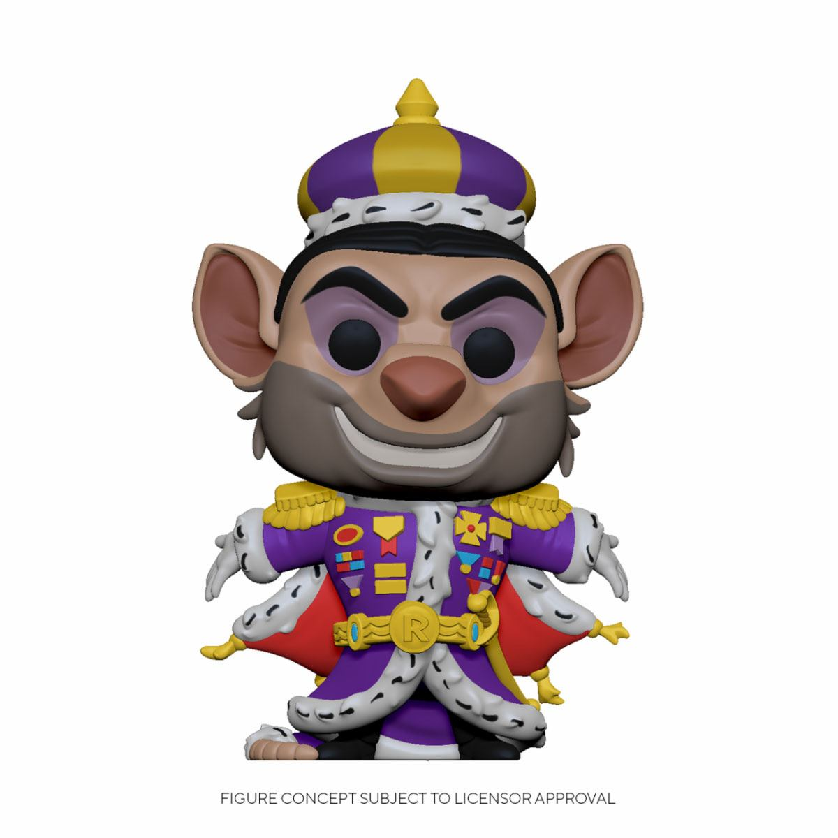 The Great Mouse Detective POP! Disney Vinyl Figure Ratigan 9 cm