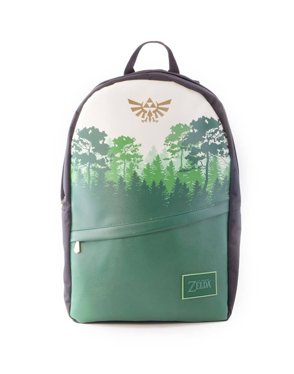 The Legend of Zelda Backpack Core Green Forrest
