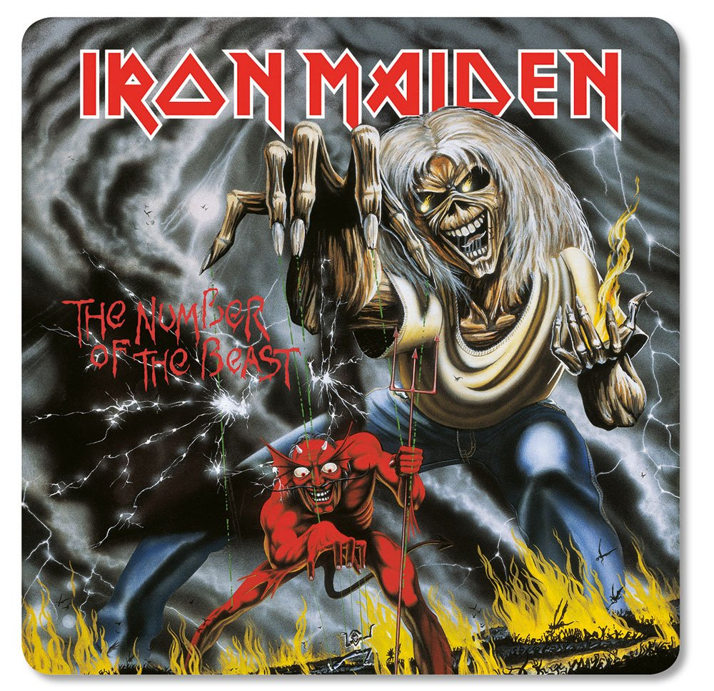 Iron Maiden Coaster Pack The Number of the Beast (6)