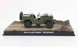 James Bond Octopussy Diecast Modell 1/43 1953 Willy's Jeep