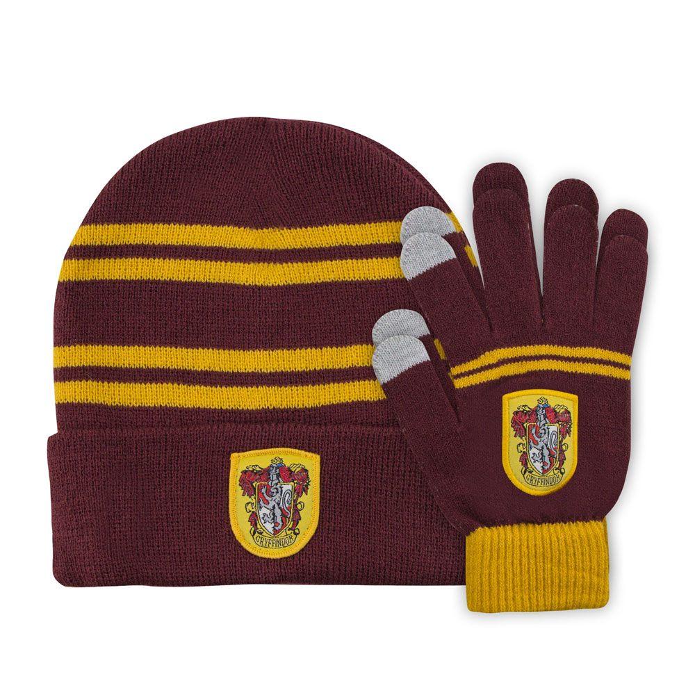 Harry Potter Beanie & Gloves Set for Kids Gryffindor