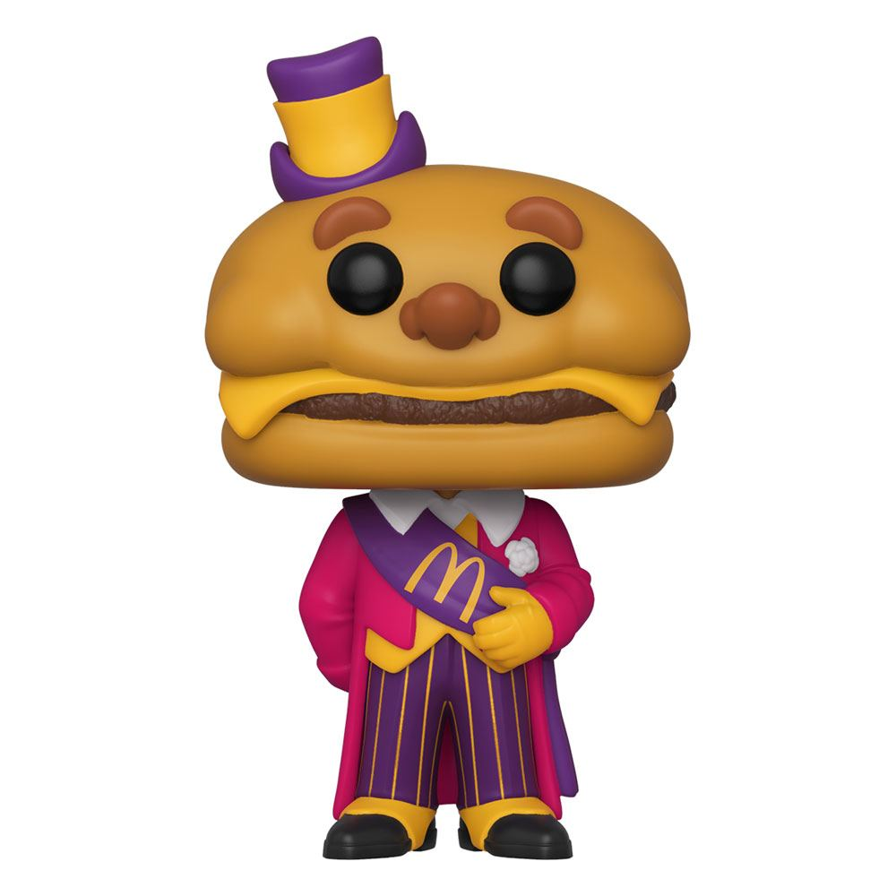 McDonald's POP! Ad Icons Vinyl Figure Mayor McCheese 9 cm