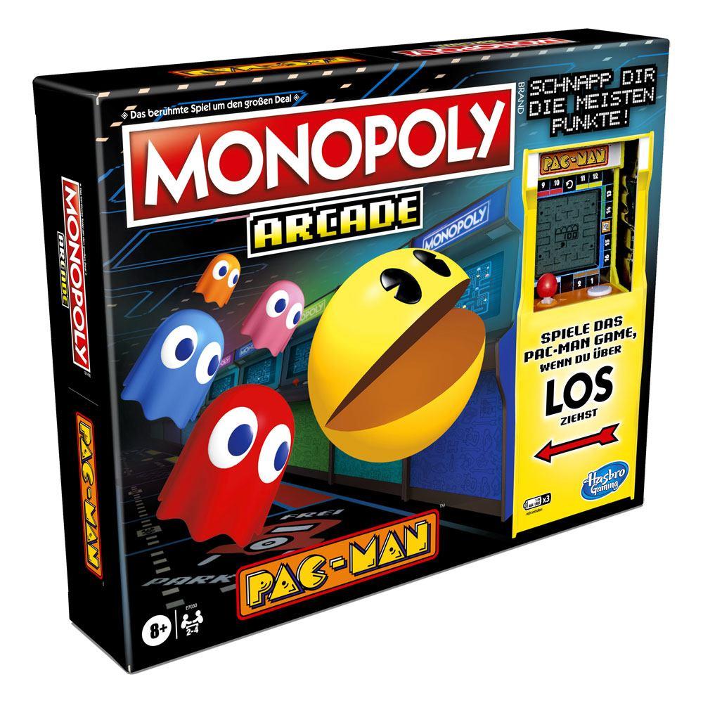 Pac-Man Arcade Board Game Monopoly *German Version*