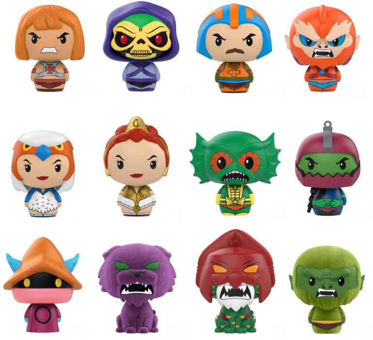 Masters of the Universe Pint Size Heroes Mini Figures 6 cm Display (24)