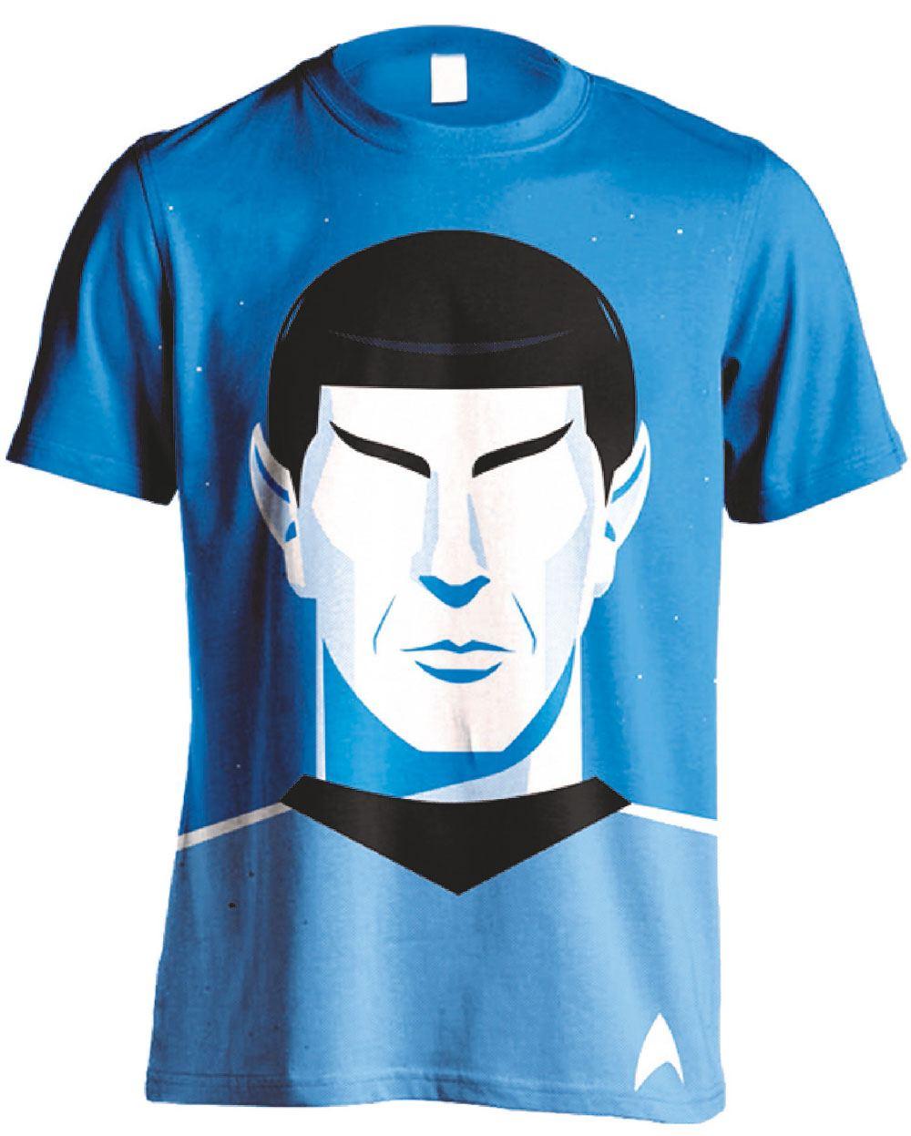 Star Trek T-Shirt Spock Vector Size L