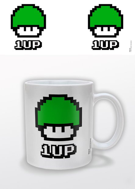Funky Retro Mug 1 UP