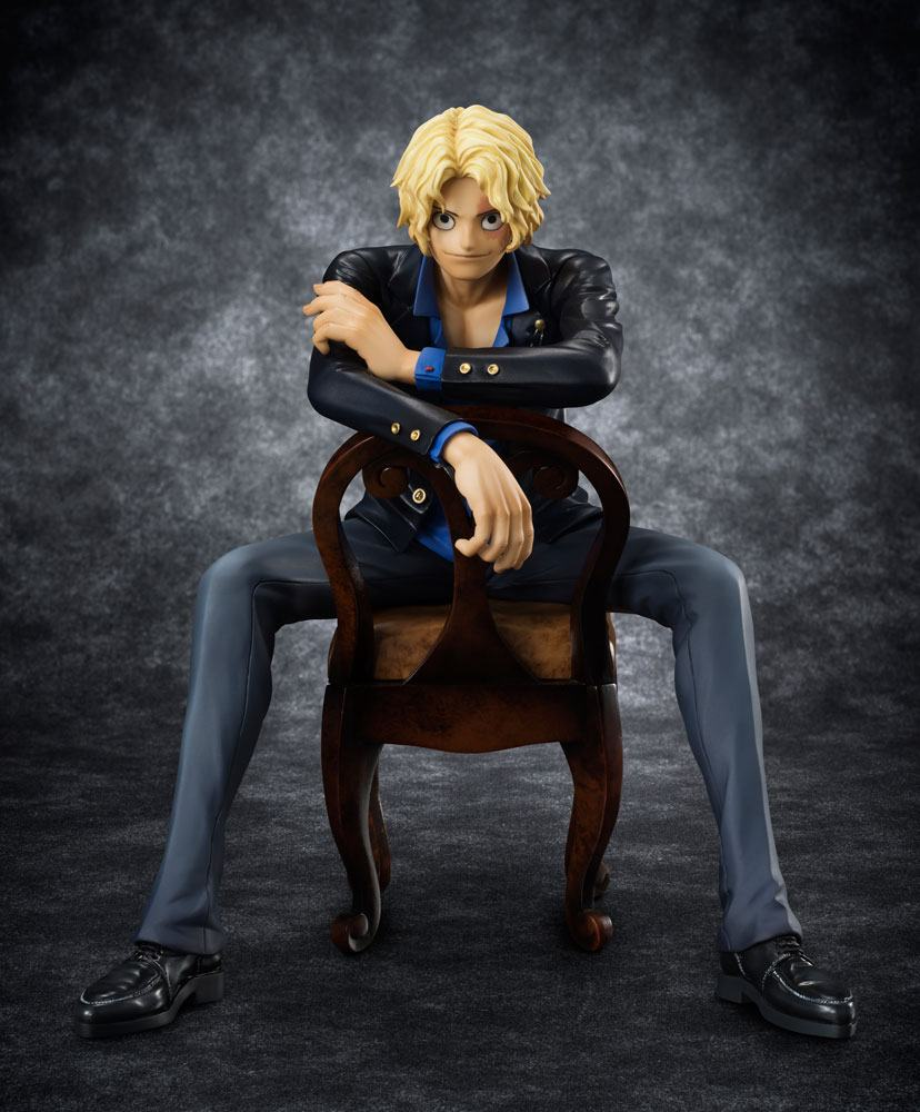 One Piece Excellent Model P.O.P SOC Statue 1/10 Sabo 15 cm --- DAMAGED PACKAGING