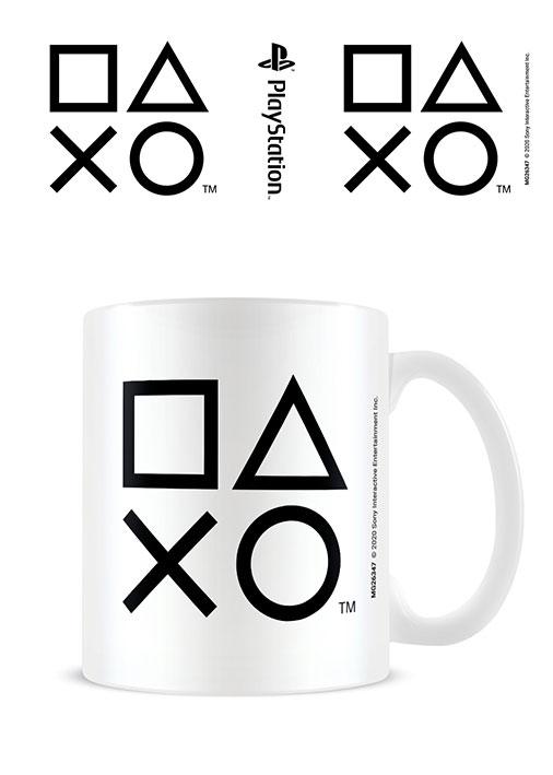 Sony PlayStation Mug Shapes Black