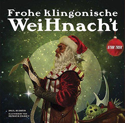 Star Trek Book Frohe klingonische Weihnacht *German Version*
