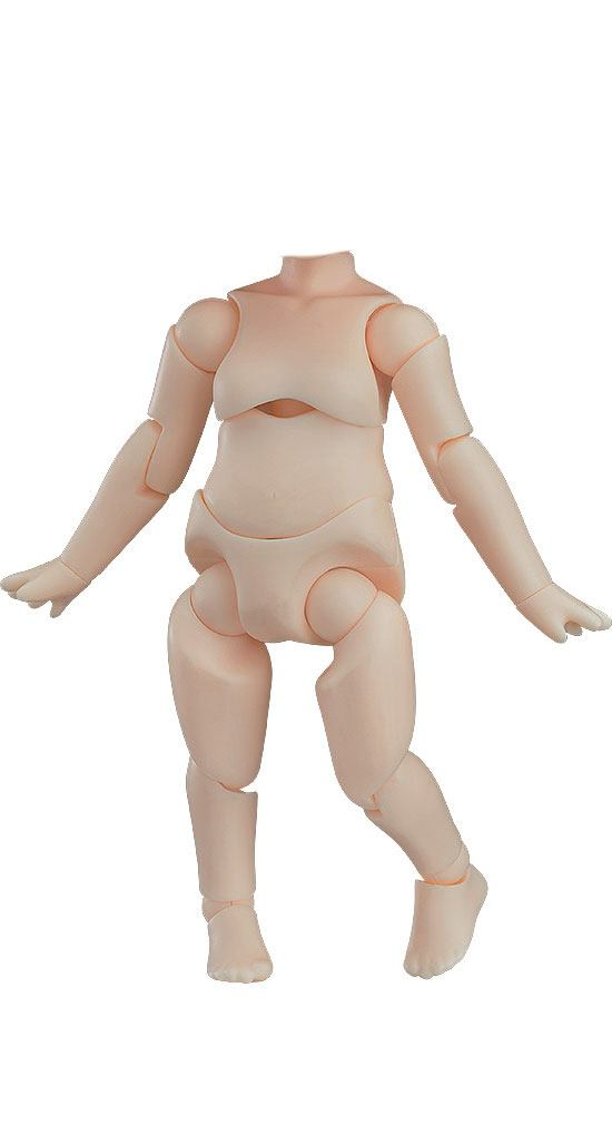 Original Character Nendoroid Doll Archetype Action Figure Girl (Cream) 10 cm